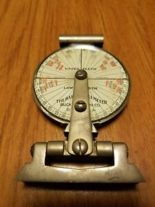 Raper Angle meter Buck X ograph Tool Teeth Dental Dentist Lab Vintage Steampunk