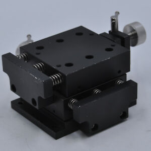 Xy 2 axis Xy Stage Linear Table Positioner size 80 80mm travel 6mm