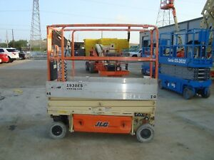 Jlg 1930es Scissor Lift 2011 19 Feet H X 30 Inches W