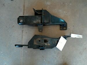 Fisher Minute Mount Plow Push Plates 2015 Up Ford F150 77101 Nice Shape