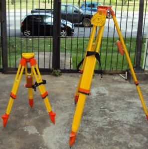 Wild Heerbrugg Tripod Wooden Survey Gst10 Short