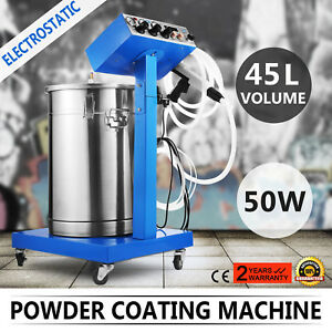 Powder Coating System Machine Electrostatic Industrial Paint System Wx 958 45l