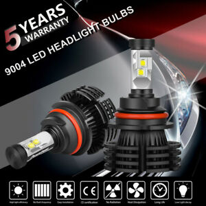 2x 9004 Hb1 Cree 1800w 270000lm Led Headlight Hi Lo Beam Bulbs Replace Xenon Hid