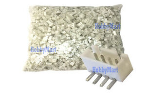 Jst Xh 2 5mm 4 pin Right Angle Male Connector Header X 1 Pack 2000 Pcs