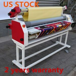 Us Stock Ving 110v 63 Full Auto Wide Format Cold Laminator With Heat Assisted