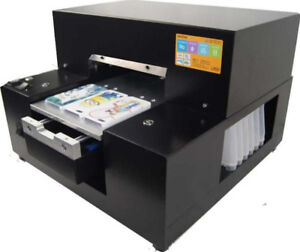 Ce A4 Printer Smallest Flatbed Printer For Phone Cover Phone Case Printing
