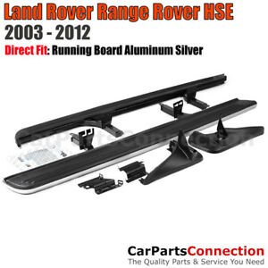 Direct Fit 03 12 Land Range Rover Hse Supercharged Running Boards Side Steps