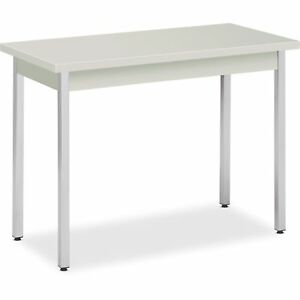 Hon Utility Table Metal 40 x20 x29 Loft Top chrome Legs Utm2040loloc