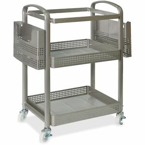 Lorell Mobile File Cart Heavy duty 22 2 5 wx12 1 2 lx25 1 4 h Sr 45654