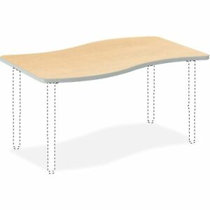 Hon Ribbon Shape Table 30 x54 Maple Sw3054endk