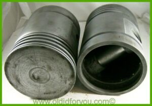 F408r Unstyled John Deere G Pistons 045 Pair All Fuel Wrist Pins Too