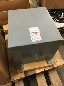 Square D 25s40f Transformer Dry Type 25kva 480v Primary 120 240v Secondary