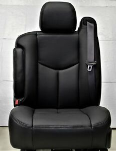 2003 2006 Chevrolet Tahoe Yukon Drivers Leather Seat Upholstery Seat Cover Set
