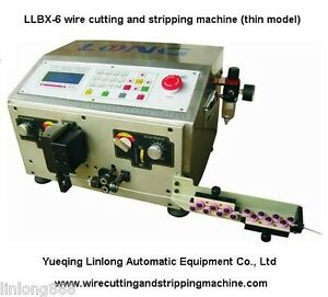 Llbx 6 Wire Stripping And Cutting Machine Cable Stripping Machine Wire Strip