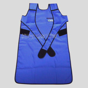 X ray Protection Protective Flexible Lead Apron 0 35mmpb Blue Faa07 L Us Ship