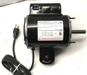 A o Smith Hf3g250n Pedestal Fan Motor 1 4hp 1100rpm 115v 230v Single Phase 48y
