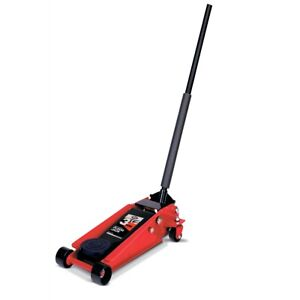 3 1 2 Ton Professional Heavy Duty Double Pumper Floor Jack Int350ss Brand New