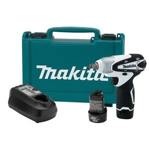 12v Max Lithium Ion 3 8 Drive Impact Wrench Kit Makwt01w Brand New