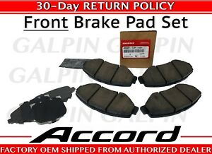 Honda Oem Genuine 2013 2017 Honda Accord Front Brake Pad Set 45022 T2f A01