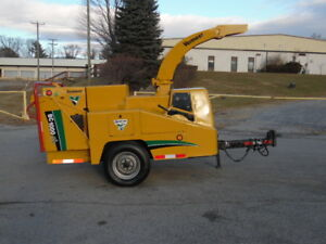 2006 Vermeer Bc1000xl Wood brush Cutter Chipper Forestry Arborist 3 3l Cummins