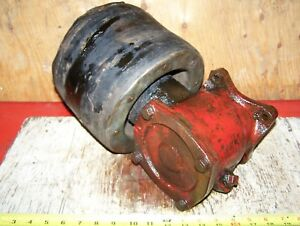 Old Ford 8n 9n 2n Ferguson To20 To30 Tractor Flat Belt Pulley Farm Hit Miss Wow