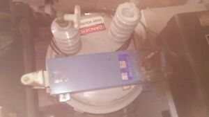 10 Kva Neon Bombarder With Choke Magnetic Contactor Milliamp Meter preowned