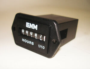 Enm T41e45 Hour Meter 10 80vdc Used 87 Hours Scrubbers Machines