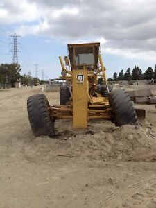 Caterpillar Heavy Equipment Model 14g Grader