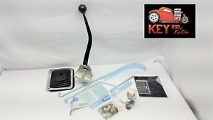 Automatic Chrome 11 Floor Mount Shifter 3 4 Speed Hot Rod Car Truck Th350 C4 Gm