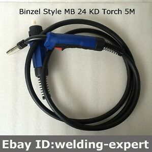 Mb 24 Kd 250a Mig Torch Gun 5m 15ft For Longevity Promts 252i 3 In 1 Mig Welder