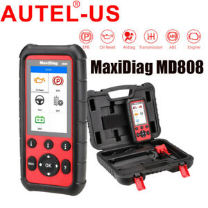 Autel Maxidiag Md808 Auto Diagnostic Tool Code Reader Scanner Better Than Md802