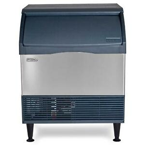 Scotsman Cu3030ma 1 Undercounter 250lb Ice Maker Machine 110lb Bin Medium Cube