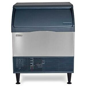 Scotsman Cu3030sa 1 Undercounter 250lb Ice Maker Machine W 110lb Bin Small Cube