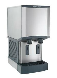 Scotsman Hid312a 1 260lb Nugget Meridian Ice Maker Dispenser Air Cooled