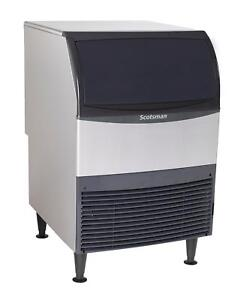 Scotsman Un324a 1 Undercounter 340lb Air Cooled Nugget Ice Maker Machine