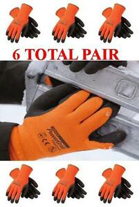 Pip Powergrab Thermo Lined Winter Work Glove 41 1400 Choose Size 6 Pair