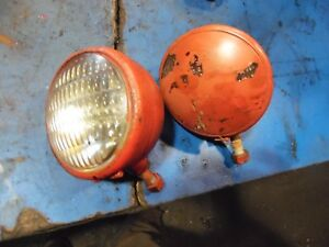 1955 Farmall 200 Farm Tractor Head Lights