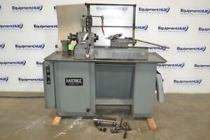 Hardinge Dsm 59 Super Precision Toolroom Lathe W Turret Cross Slide