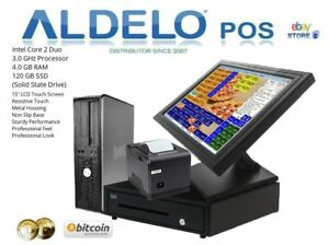 Aldelo Pizza Pos Restaurant Computer With Complete