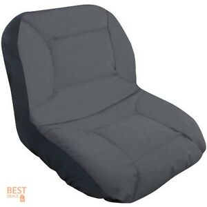 Compact Farm Tractors Seat Cover Universal Lawn Mower Chair Case Soft Comfort