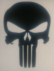 Punisher Decal The Punisher Skull Sticker Choose Color
