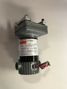Dayton 1lpv5 Dc Motor Gearmotor 24 Rpm 12v Tenv Gear Reduced