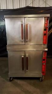 Vulcan Gc04s Double Stack Gas Convection Oven