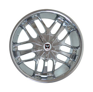 4 Gwg Wheels 20 Inch Chrome Savanti Rims Fits Honda Civic Coupe 2012 2015