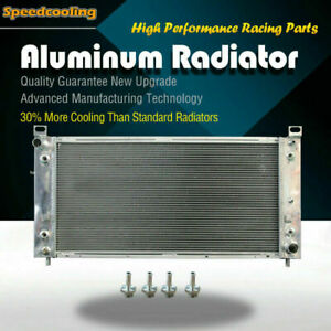 2370 Aluminum Radiator For Chevy Silverado Suburban Tahoe Escalade 99 14 V8 3row