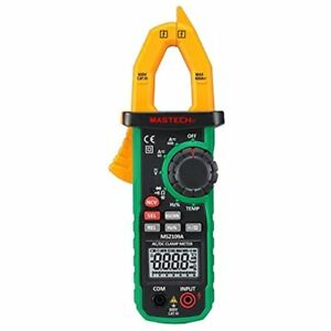 Multi Testers Ms2109a True Rms Digital Ac Dc Clamp Meter 600a Temp Ncv Rc