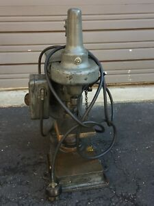 Used Hilsinger Drill Press W 3 Year Old Motor