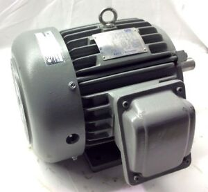 Teco Westinghouse 3hp Ep00325 Inverter Duty Motor 575v 3 Phase 175 7200rpm 182t