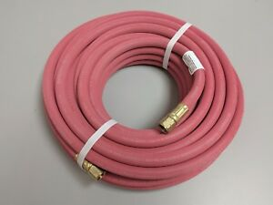 5 16 In X 50 Ft Continental Red Single Line Grade R Welding Hose Assembly