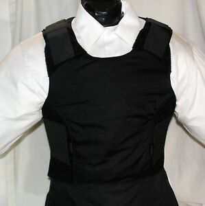 New Large Concealable IIIA Body Armor BulletProof Made with DuPont Kevlar Vest $188.00